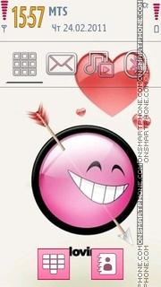 Love Struck tema screenshot