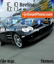 Mercedes Benz SLR Mclaren es el tema de pantalla