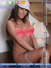 Sexy model70 theme screenshot