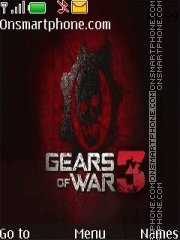 Gears of War 3 theme screenshot