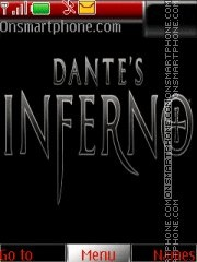 Dantes Inferno theme screenshot