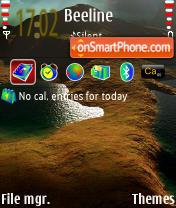 Скриншот темы Zakat