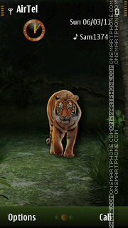 Tiger s^3 theme screenshot