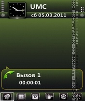Green by Bolena theme screenshot