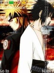 Naruto Sasuke tema screenshot