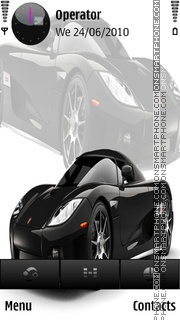 Zonda R tema screenshot