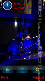 Zonda R Neon tema screenshot
