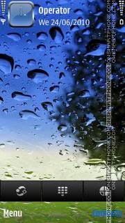 Rain screen by di_stef es el tema de pantalla
