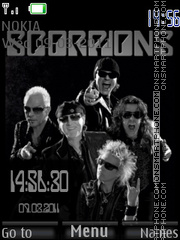 Scorpions 01 theme screenshot