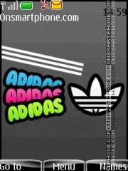 Adidas 48 theme screenshot