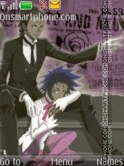 Tyki Mikk (D.Gray Man - Noah family) tema screenshot