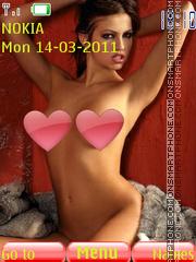 Sexy model74 es el tema de pantalla