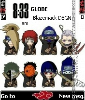 Chibi akatsuki v2 theme screenshot