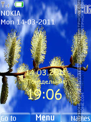 Willow twig theme screenshot