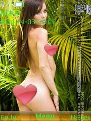 Sexy model79 es el tema de pantalla