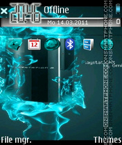 Playstation 3 tema screenshot