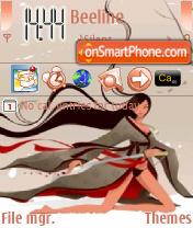 Samuray es el tema de pantalla