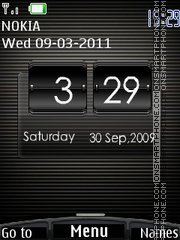 Htc Black V2 theme screenshot