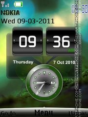 Htc New Look theme screenshot
