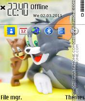 Tom Jerry 01 es el tema de pantalla