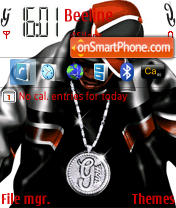 G-Unit theme screenshot