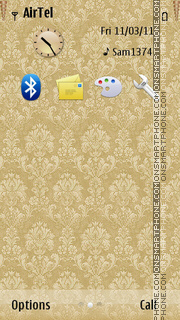 Rich Gold theme screenshot