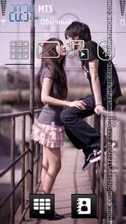 Cute Couple 05 tema screenshot