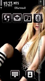 Avril Lavingne es el tema de pantalla