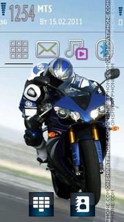 Yamaha 05 theme screenshot