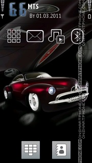 Old Car 01 theme screenshot