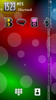 Android S3 theme screenshot