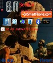 Persian theme screenshot