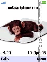 Monkey - opicka es el tema de pantalla