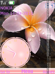 Tenderness Flower theme screenshot
