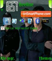 Скриншот темы Audioslave