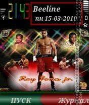 Roy Jones Jr. by ROMB39 es el tema de pantalla