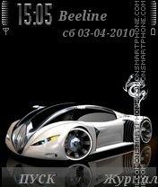 Auto3D by ROMB39 es el tema de pantalla