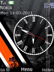 O.B.W.Clock theme screenshot