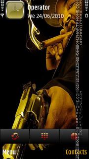 gun by di_stef es el tema de pantalla