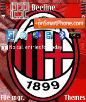 ACM Milan theme screenshot