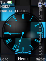 B.B.Clock theme screenshot