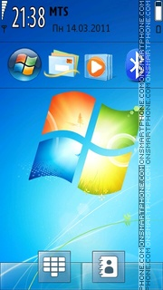 Windows 7 tema screenshot