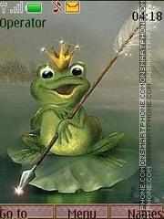 frog anim tema screenshot
