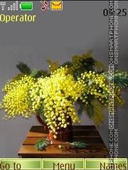 Mimosa theme screenshot