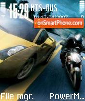 Test Drive Unlimited es el tema de pantalla