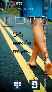 Still Searching es el tema de pantalla