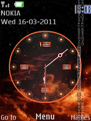 O.R. Clock theme screenshot