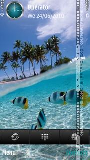Скриншот темы Dream island by di_stef
