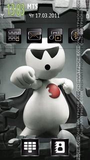 Zoozoo 3G tema screenshot