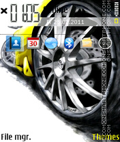 Lamborghini 05 theme screenshot